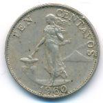 Филиппины, 10 сентаво (1960 г.)
