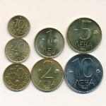 Болгария, Набор монет (1992 г.)