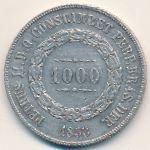 Бразилия, 1000 рейс (1853–1866 г.)