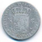 Нидерланды, 1/2 гульдена (1848 г.)