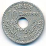 Тунис, 10 сентим (1919–1920 г.)