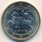 Литва, 1 евро (2015 г.)