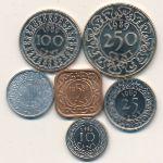 Суринам, Набор монет
