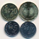 Малайзия, Набор монет (2012 г.)