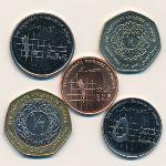 Иордания, Набор монет