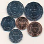 Мадагаскар, Набор монет