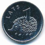Латвия, 1 лат (2012 г.)