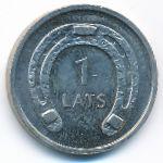 Латвия, 1 лат (2010 г.)