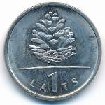 Латвия, 1 лат (2006 г.)