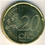 Spain, 20 euro cent, 2007–2009