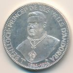 Андорра, 25 динеров (1963 г.)