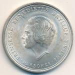 Дания, 10 крон (1968 г.)