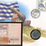 Уругвай, 5 новых песо (1980 г.)
