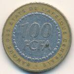 Центральная Африка, 100 франков (2006 г.)