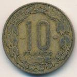 Камерун, 10 франков (1958 г.)