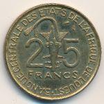 Западная Африка, 25 франков (1976 г.)
