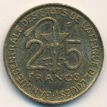 Западная Африка, 25 франков (1982 г.)