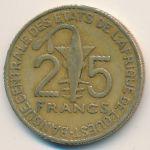 Западная Африка, 25 франков (2004 г.)