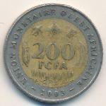 Западная Африка, 200 франков (2003–2010 г.)