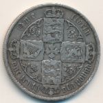 Великобритания, 1 флорин (1881 г.)