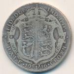 Великобритания, 1/2 кроны (1912–1918 г.)