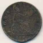 Великобритания, 1 пенни (1882 г.)