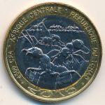 Чад, 4500 франков КФА (2015 г.)