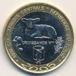 Чад, 4500 франков КФА (2005 г.)