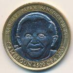 Камерун, 4500 франков КФА (2005 г.)