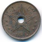 Свободный штат Конго, 1 сентим (1887 г.)
