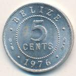 Белиз, 5 центов (1976–2006 г.)