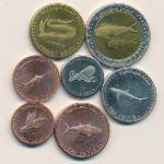 Соловьиные острова, Набор монет (2011 г.)