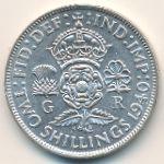 Великобритания, 2 шиллинга (1940 г.)