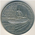 Alderney, 2 pounds, 1995