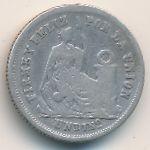 Перу, 1 динеро (1864 г.)