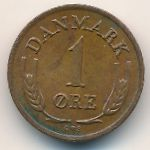 Дания, 1 эре (1962 г.)