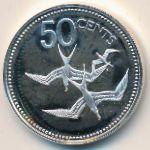 Белиз, 50 центов (1977 г.)