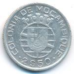 Мозамбик, 2,5 эскудо (1942–1950 г.)