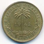 Британская Западная Африка, 2 шиллинга (1942 г.)