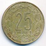 Центральная Африка, 25 франков (1976 г.)