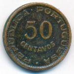 Ангола, 50 сентаво (1953 г.)