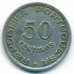 Ангола, 50 сентаво (1950 г.)
