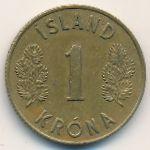 Исландия, 1 крона (1959 г.)