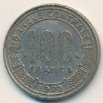 Камерун, 100 франков (1972 г.)