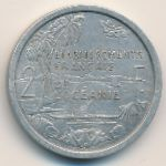 French Oceania, 2 francs, 1949