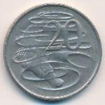 Австралия, 20 центов (1976 г.)