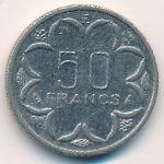 Центральная Африка, 50 франков (1986 г.)