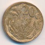 ЮАР, 20 центов (1993 г.)