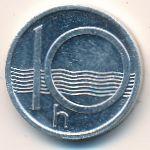 Чехия, 10 гелеров (1993 г.)