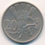 Чехословакия, 20 гелеров (1921 г.)